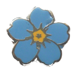 Forget-Me-Not pin